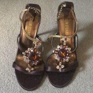 NWOT Colin Stuart Jeweled Heels 8